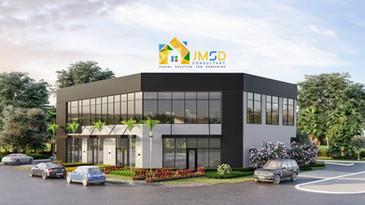 Commercial Building Renderings Wilton Manors Florida