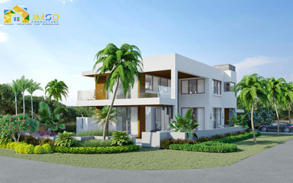 Exterior Residential Home Renderings Jacksonville Florida
