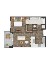 2D Floor Plan Rendering Services UK