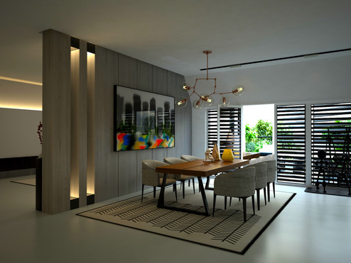 3D RENDERING SERVICES DALLAS, TEXAS FOR MODERN KITCHEN CGI VISUALIZATION