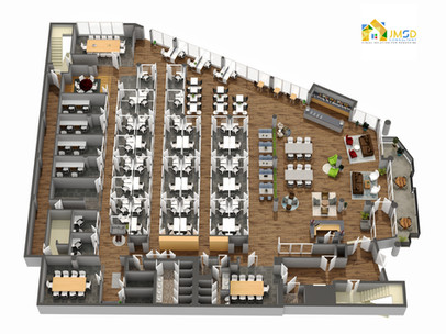 3D Floor Plan Rendering Services