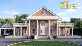 classic villa home exterior design services saint louis mo
