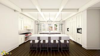 KITCHEN 3D VISUALIZATION SERVICES FOR INTERIOR DESIGN SAN JOSE CALIFORNIA