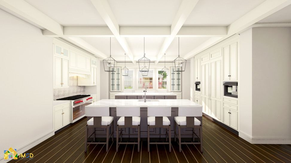 Architectural Rendering Los Angeles California