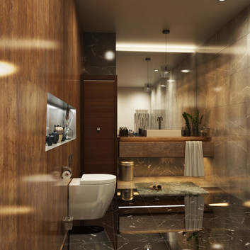 BATHROOM 3D RENDERING SERVICES PROJECT LOS ANGELES, CALIFORNIA