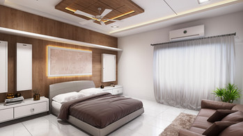 MODERN BEDROOM 3D RENDERING SERVICES SAN FRANCISCO, CALIFORNIA
