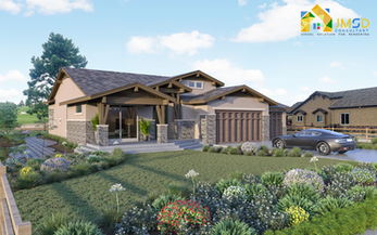 3D House Rendering Services