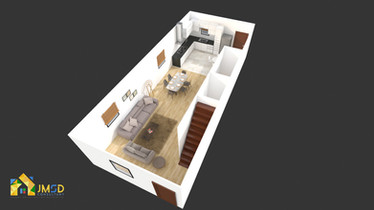 3D Floor Plan Rendering Company UK