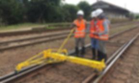 via permanente curso ferrovia trilho geometria de via permanente