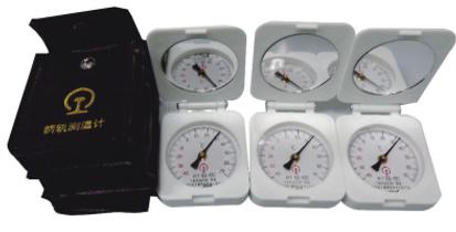 Termômetro de trilho analógico