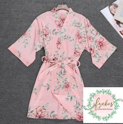 Pink Short Robe