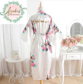 Long Bridesmaid Robe