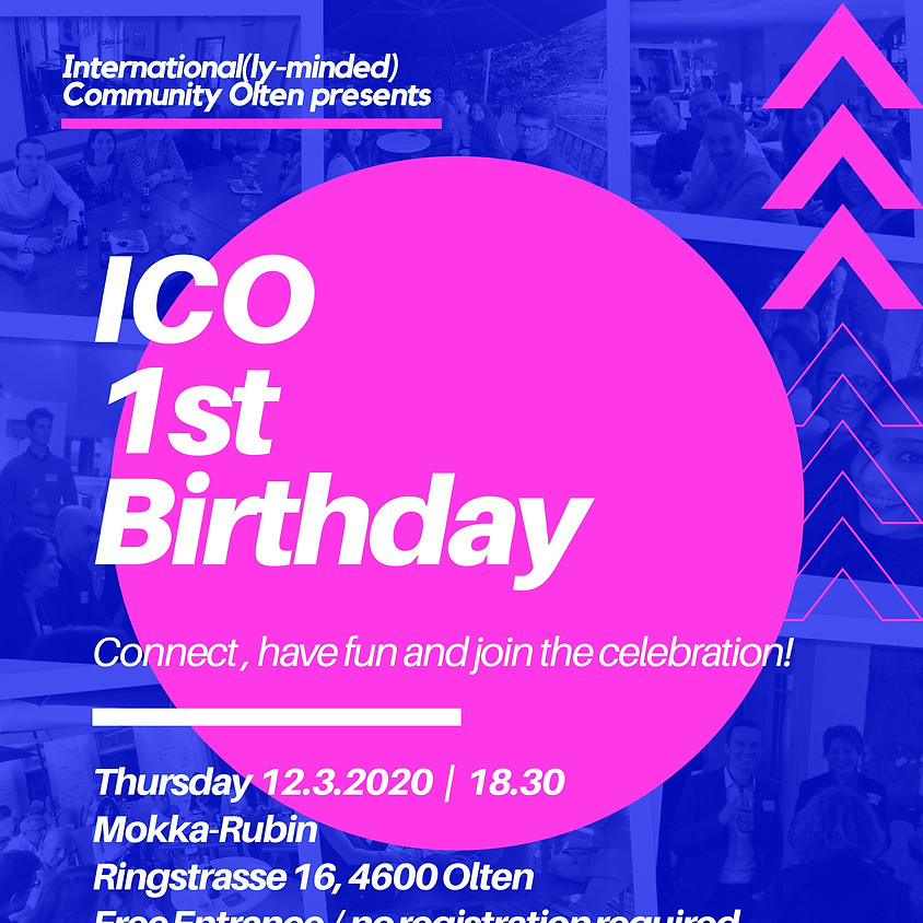 1st Birthday of ICO