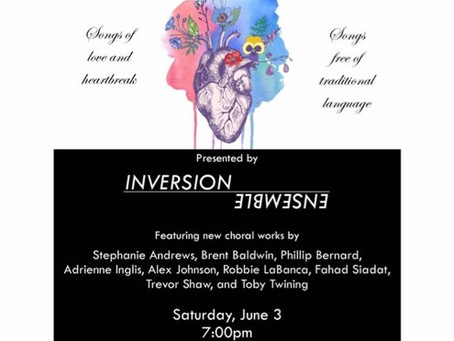 Inversion Ensemble to showcase my compositions!