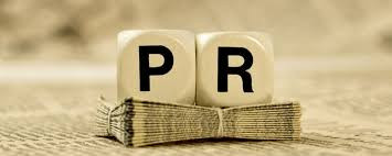 PR? Hmm, what is that exactly?