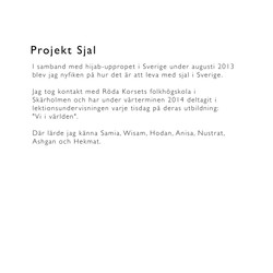 Projekt Sjal