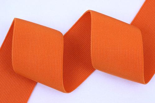 50mm woven elastic orange