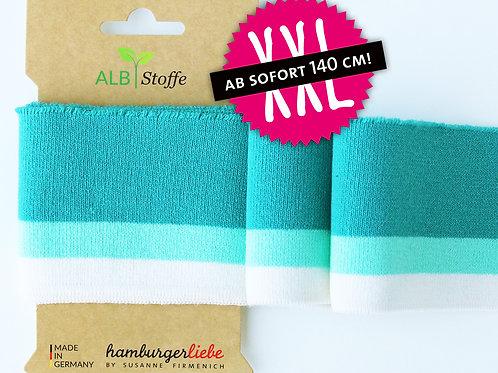 Mono XXL cuff me Colleage turquoise