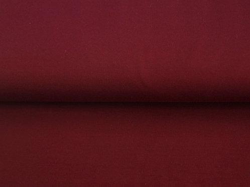 Solid jersey -dark red