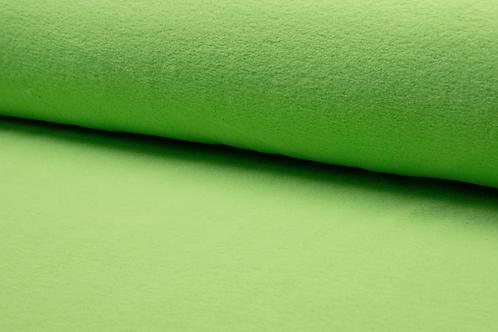 Cotton fleece - lime
