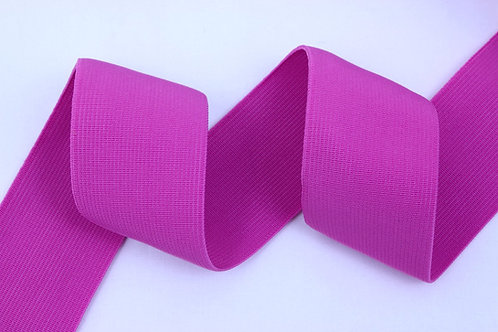 50mm woven elastic pink