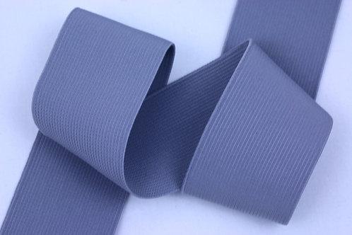 50mm woven elastic pale grey