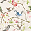 Thumbnail: Spring birds on linen cotton jersey