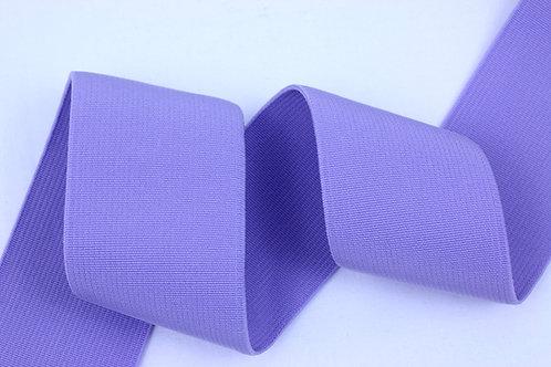 50mm woven elastic lilac