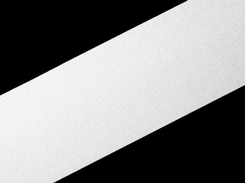 50mm woven elastic white