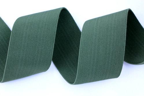 50mm woven elastic khaki