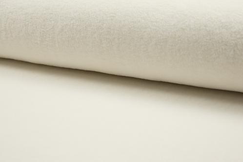 Cotton fleece -ecru