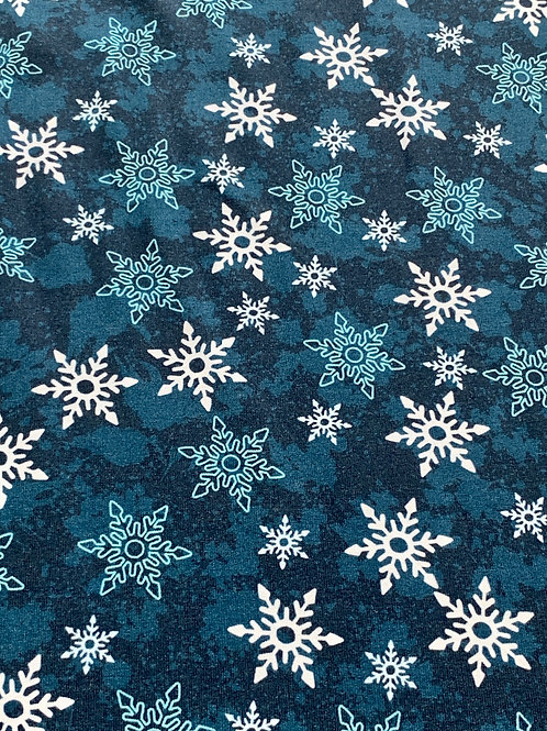 Blue winter stars sweatshirt
