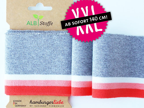 Mono XXL cuff me Colleage grey orange