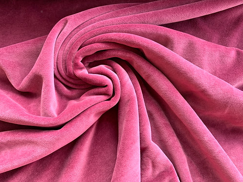Pink stretch velour Avalana
