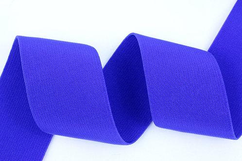 50mm woven elastic blue
