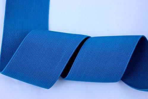 50mm woven elastic turquoise