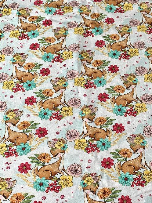 Forest friends - Bambi cotton jersey