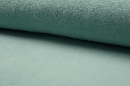 Cotton fleece -dusty mint