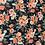 Thumbnail: Navy vintage flowers cotton jersey