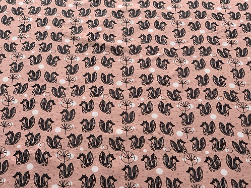 Badger dusty pink cotton jersey