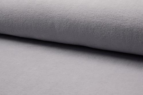 Cotton fleece -pale grey