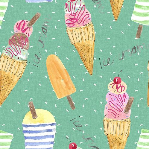 Ice cream green