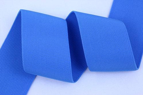 50mm woven elastic pale blue