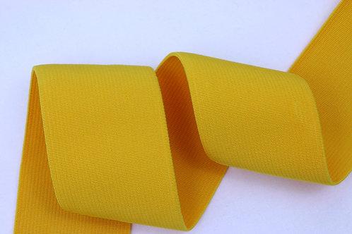 50mm woven elastic yellow