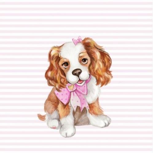 Cute puppy panel