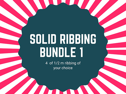 Solid ribbing bundle 4 x 1/2m