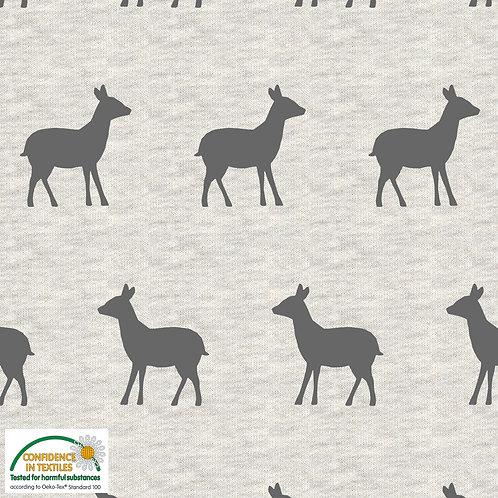 Deers on melange Stof sweatshirt