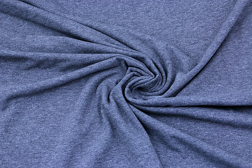 Solid jersey - dark grey melange