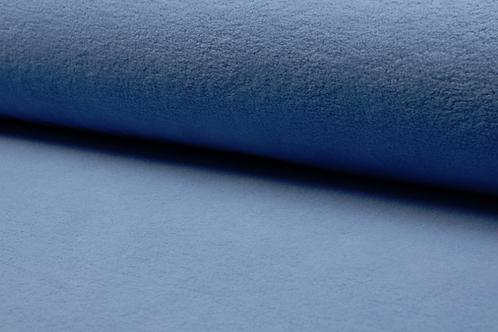 Cotton fleece - dusty blue