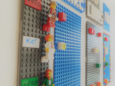 Le plan d'actions en Lego®
